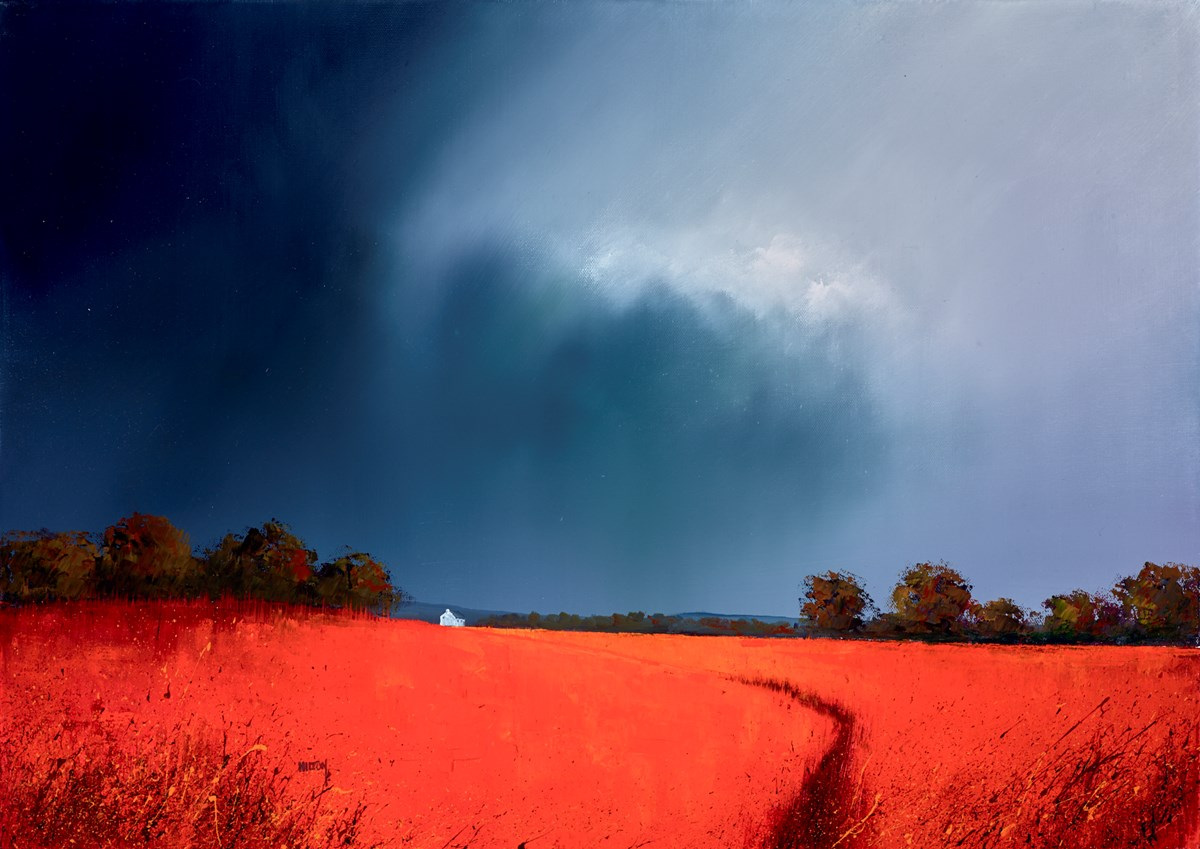 Storm Making Red by barry hilton -  sized 28x20 inches. Available from Whitewall Galleries